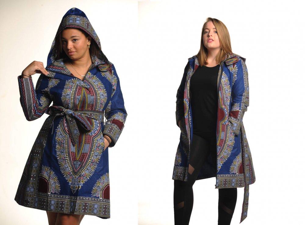 Maya Dashiki African Print Dress